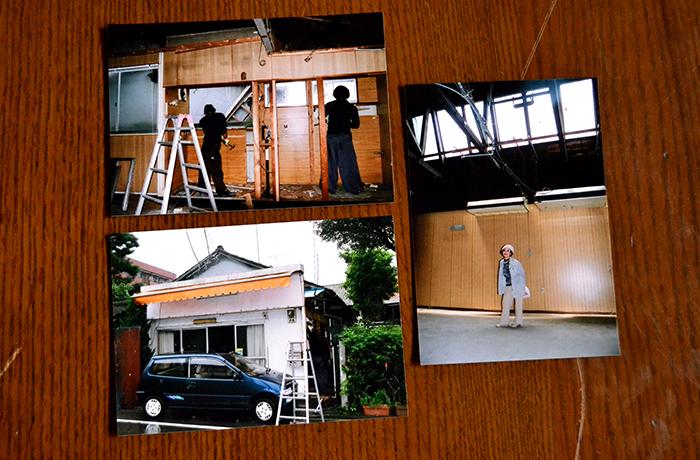 築83年で事務所として使われていた当時の写真