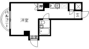 【ご成約】ホロン萩澤 301号室