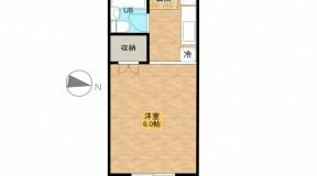 土方ハイツ5 3階角部屋