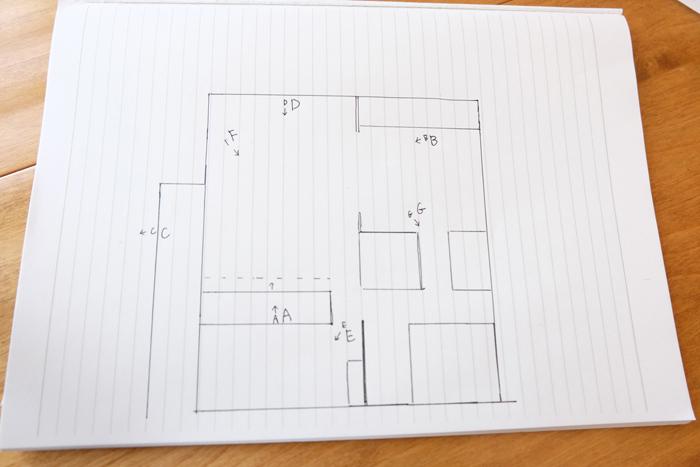 2LDKの6畳8畳を繋げて14畳の1SLDKに