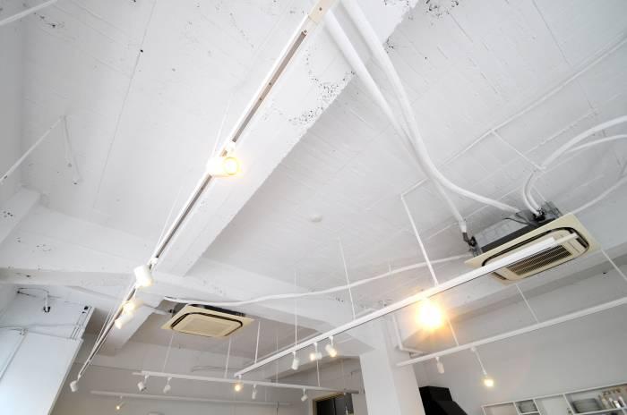 施工後:もともとあった天井を抜きとても抜けが良くなりました。