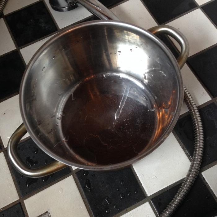 【道具】①大きな鍋